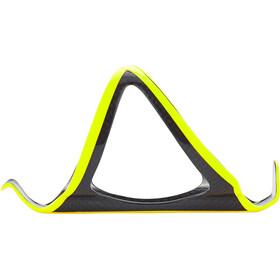 Supacaz Fly Cage Carbon Portabidón, neon yellow